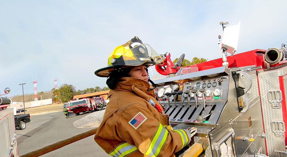 Woman Firefighter